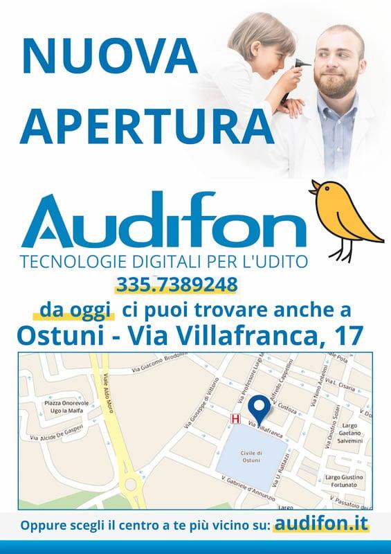 Nuovo centro Audifon a Ostuni